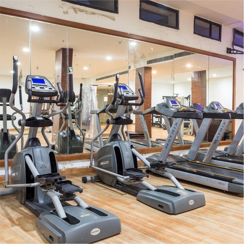 Hotel Website Creative - Square - Gym - 2