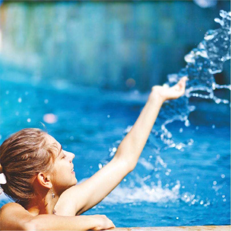 Hotel Website Creative - Square - Swimming Pool - 1